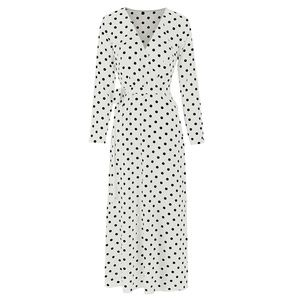 Fashion Long Sleeves Dresses (D5F3)